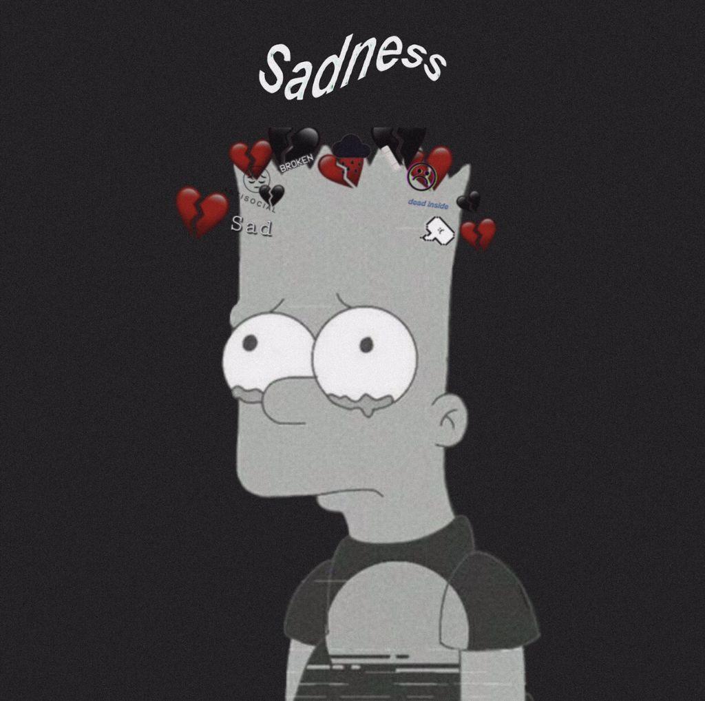 Sadness.a Ld dYL sadness wallpaper simpsons sadsimpso