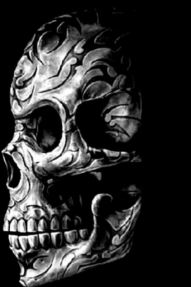 Skull Iphone Background Posted By Christopher Johnson
