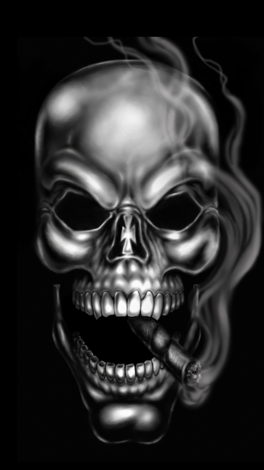 Skull Wallpaper for iPhone 67+ images