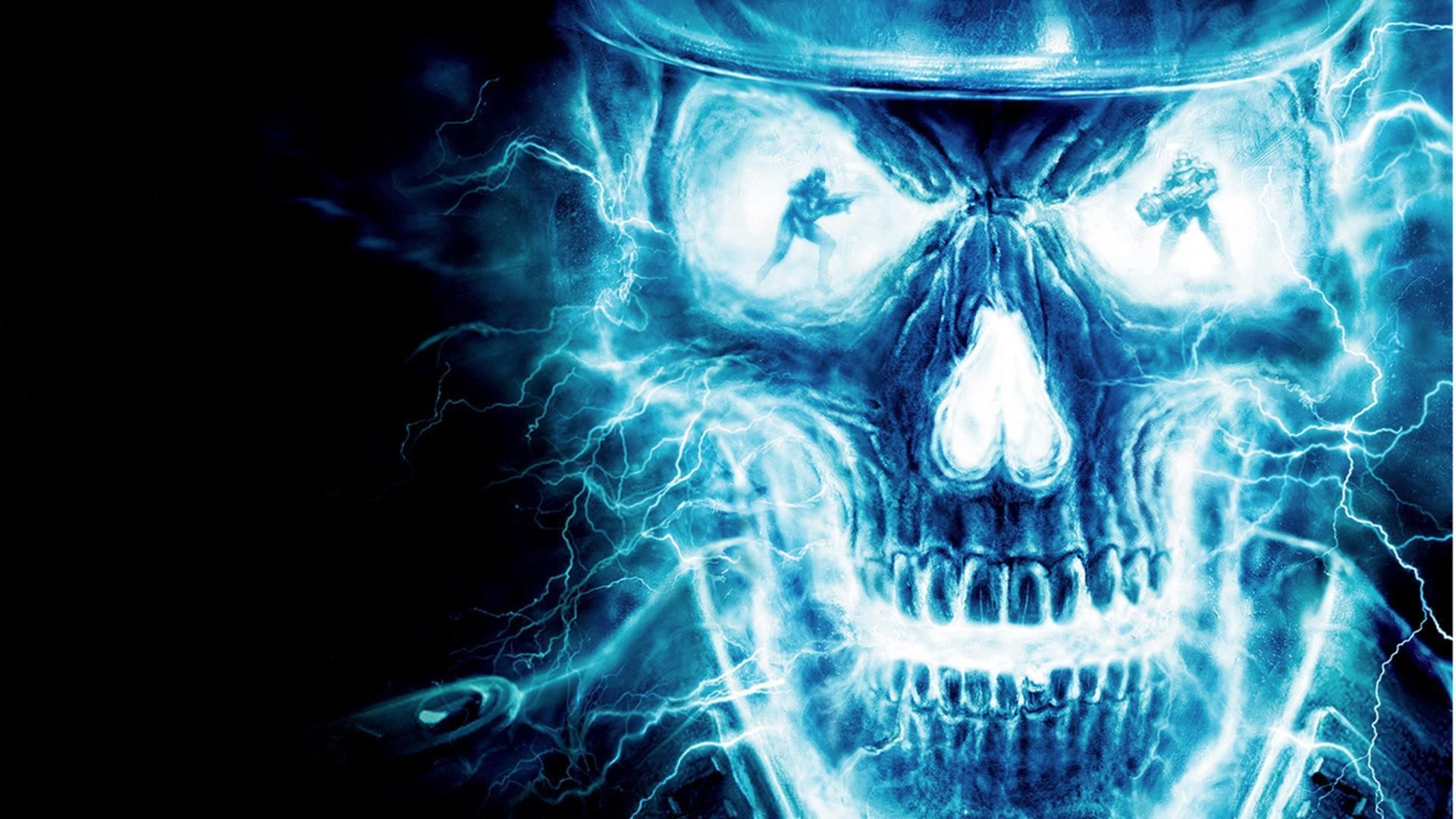 Fire Skull Wallpapers A a WallpaperTag