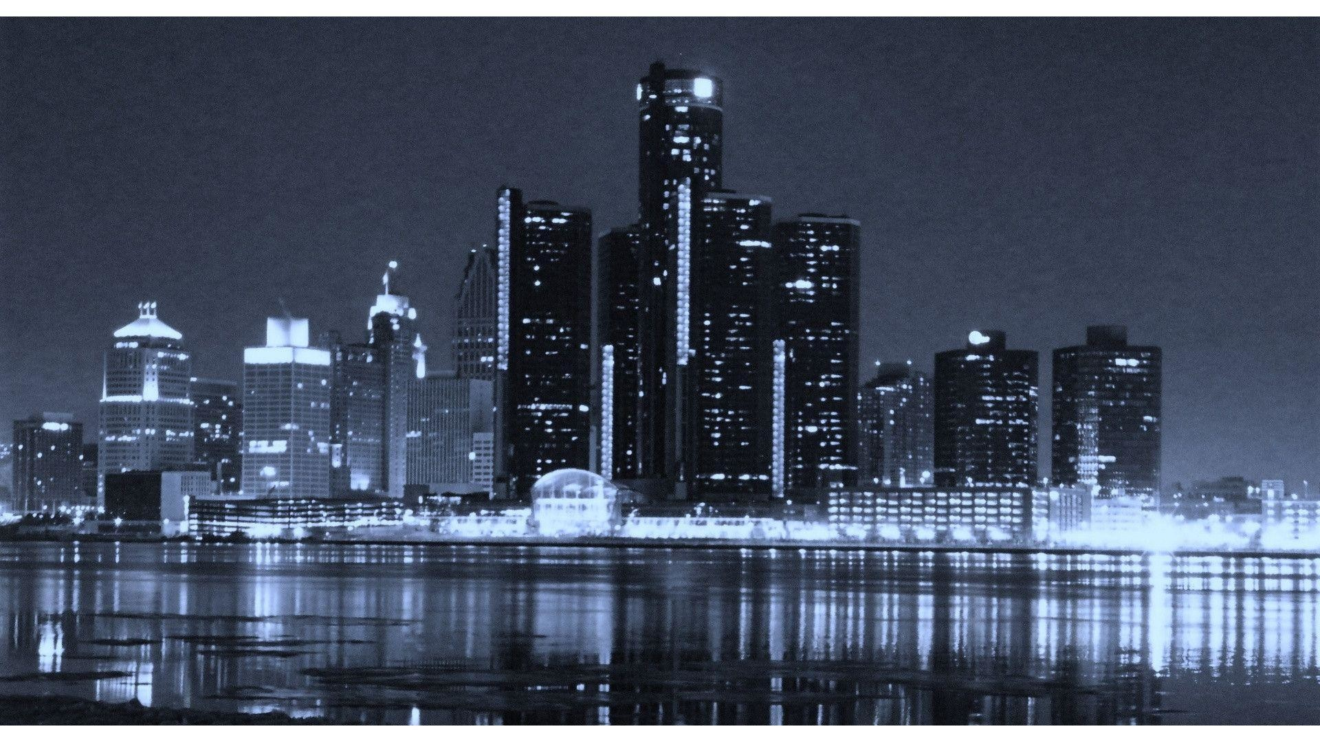 65 Detroit Skyline Wallpapers on WallpaperPlay