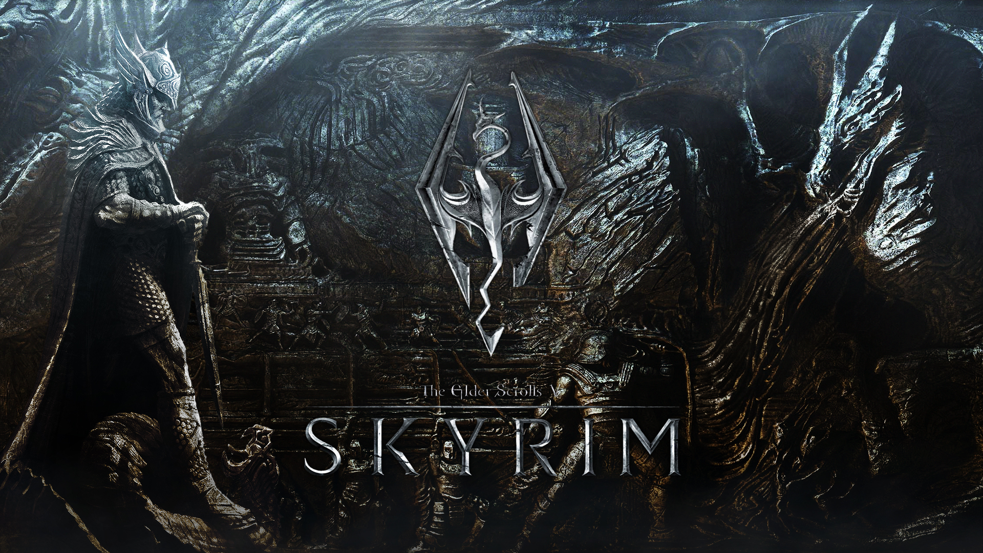 Skyrim Background 1920x1080 Posted By Christopher Tremblay