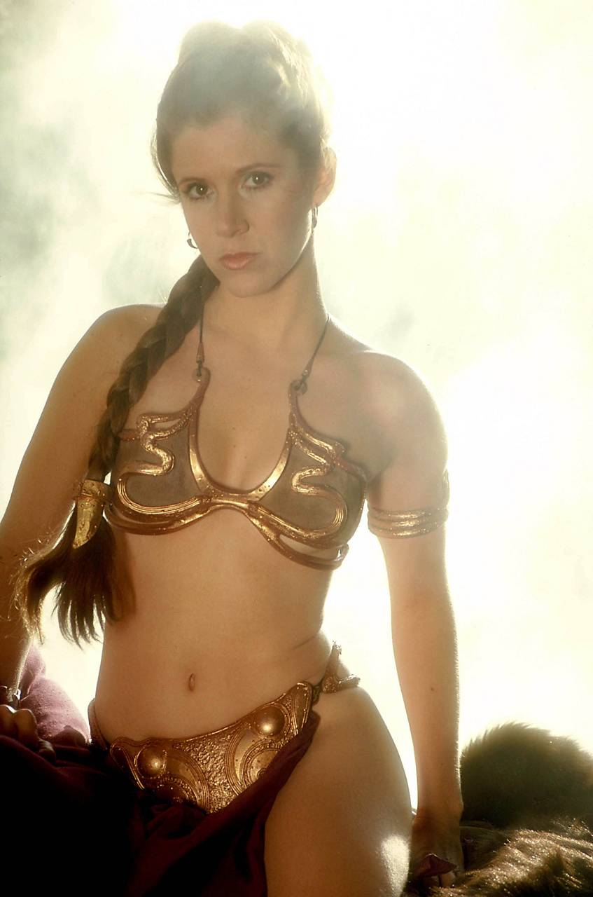 Slave Leia Wallpaper Posted By Christopher Thompson