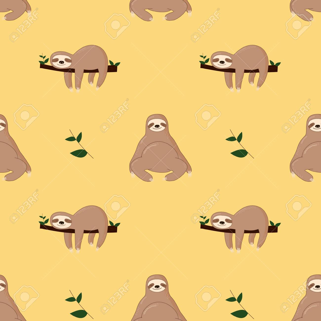 Sloth Background Posted By Michelle Johnson