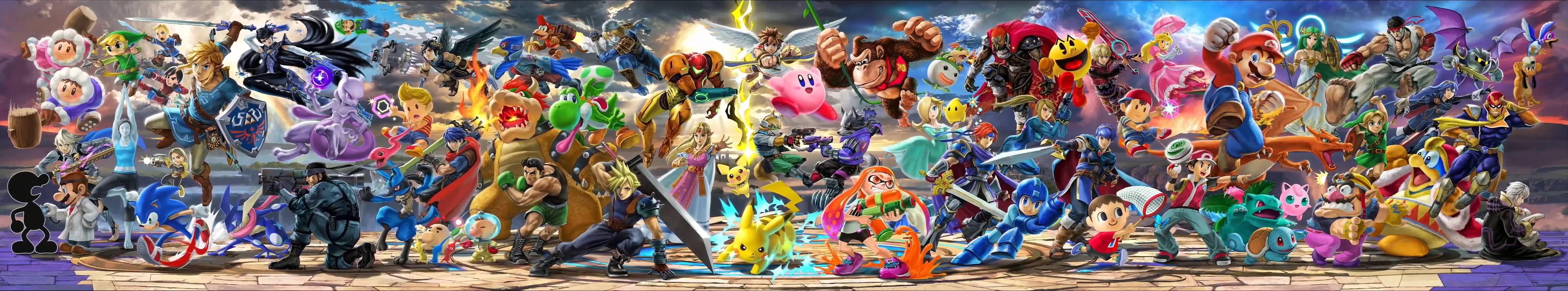 Smash Bros Ultimate Desktop Background Posted By John Thompson