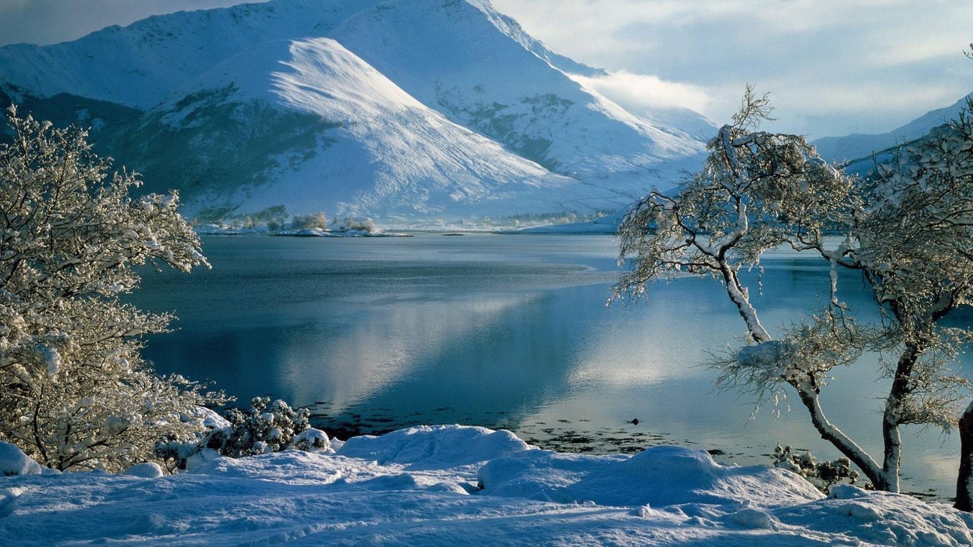 Snow Landscape Wallpaper Posted By Sarah Walker
