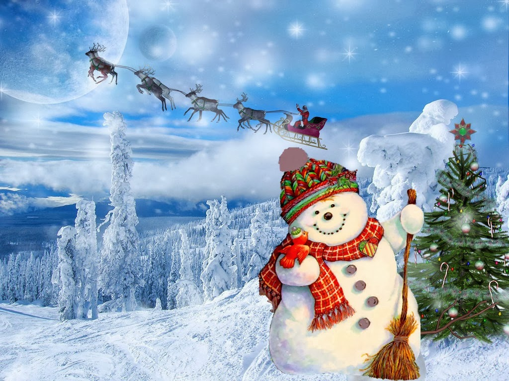 46+ Snowman Screen Wallpaper on WallpaperSafari