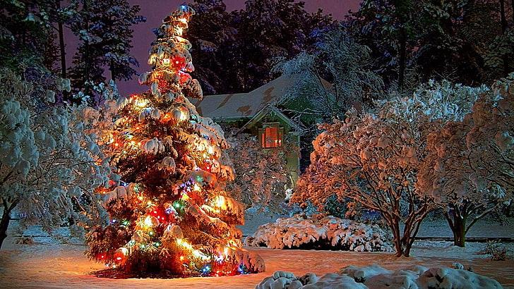 HD wallpaper snow, christmas day, christmas eve, snowy