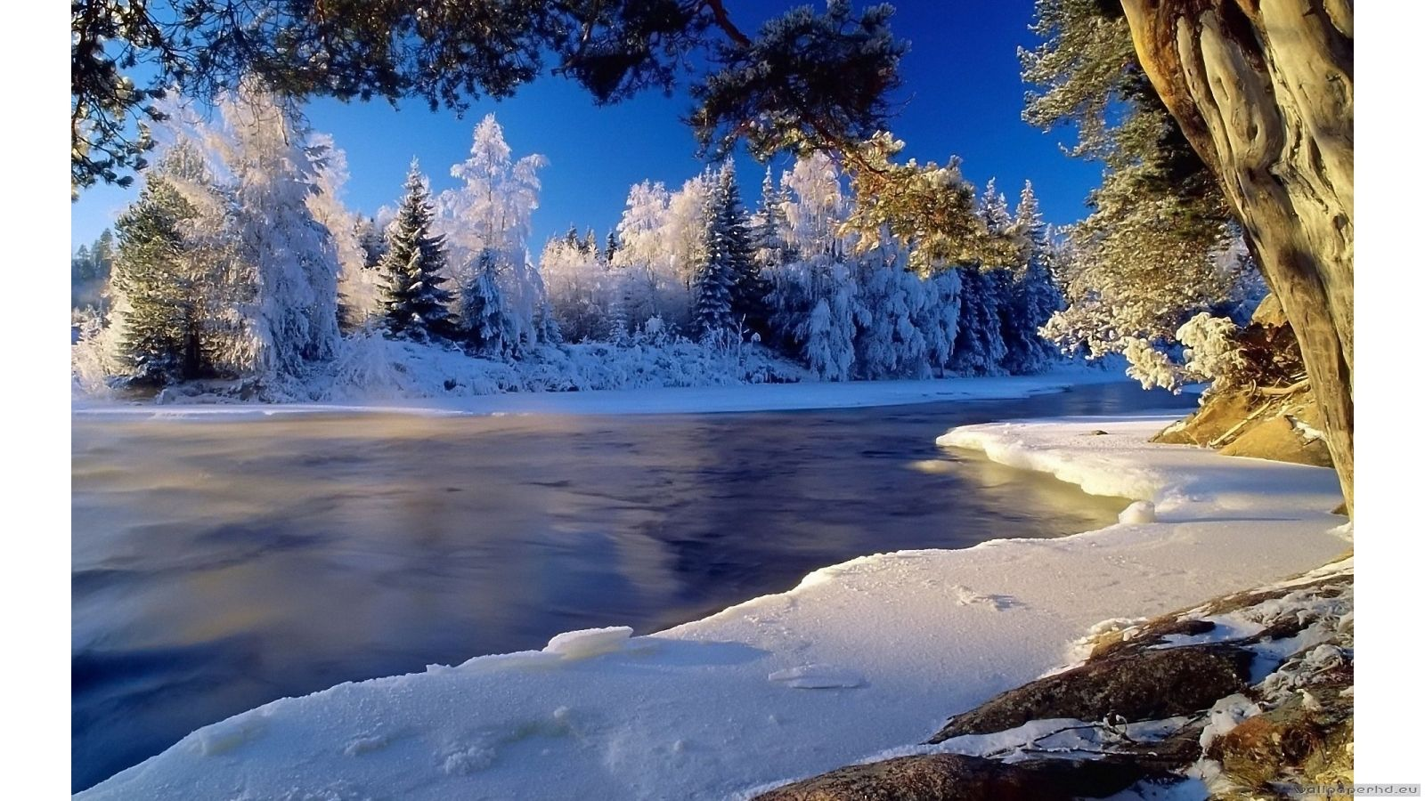 Snowy Landscape Wallpapers Posted By Samantha Walker