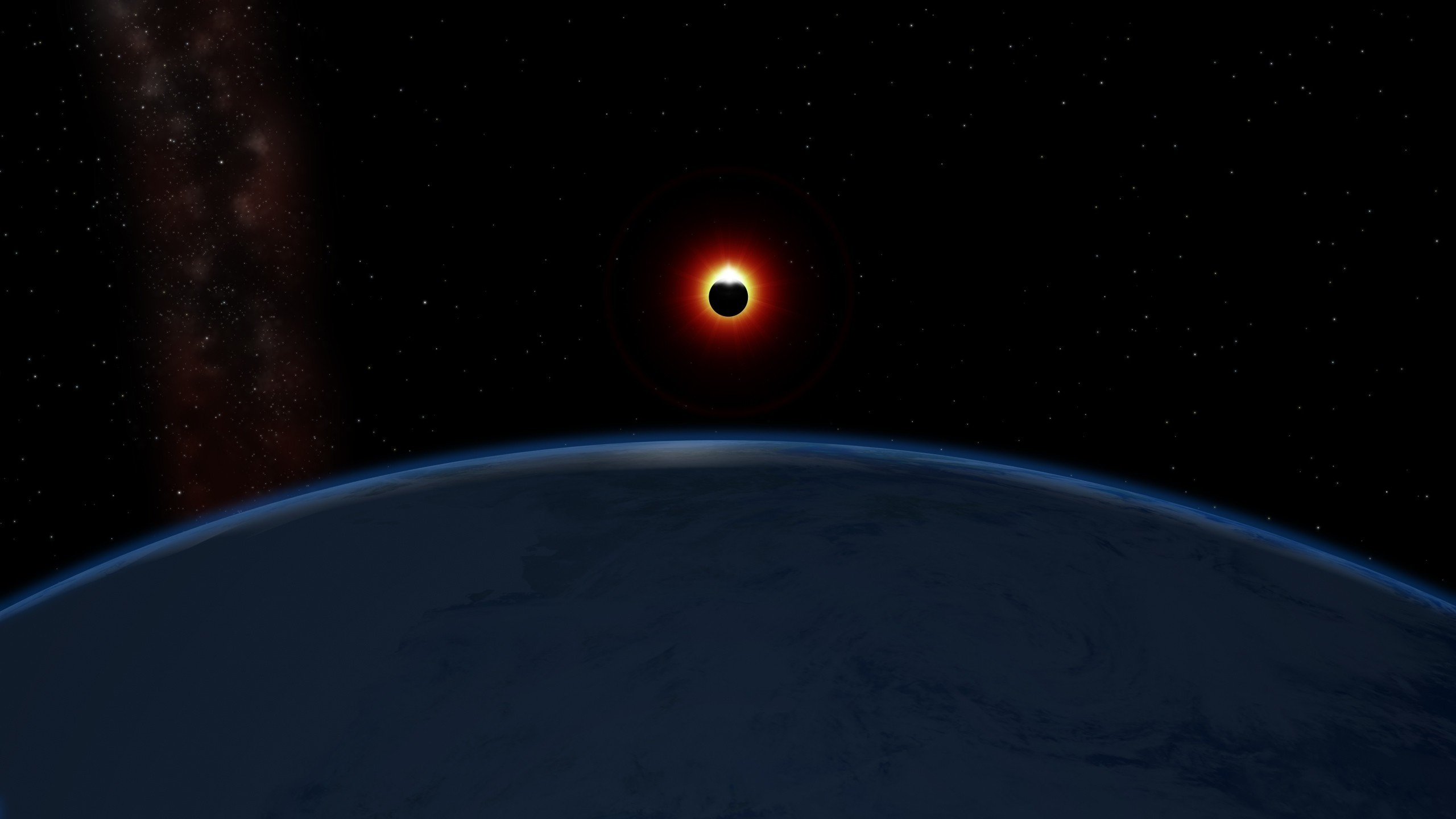 Solar Eclipse Hd Wallpaper Posted By Sarah Tremblay