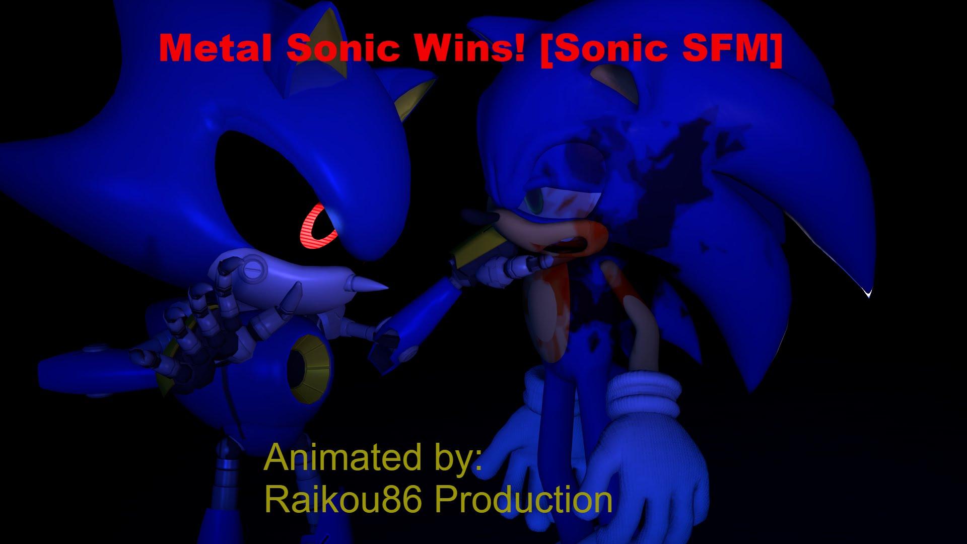 Sonic Vs Metal Sonic Wallpaper Posted By Ryan Thompson
