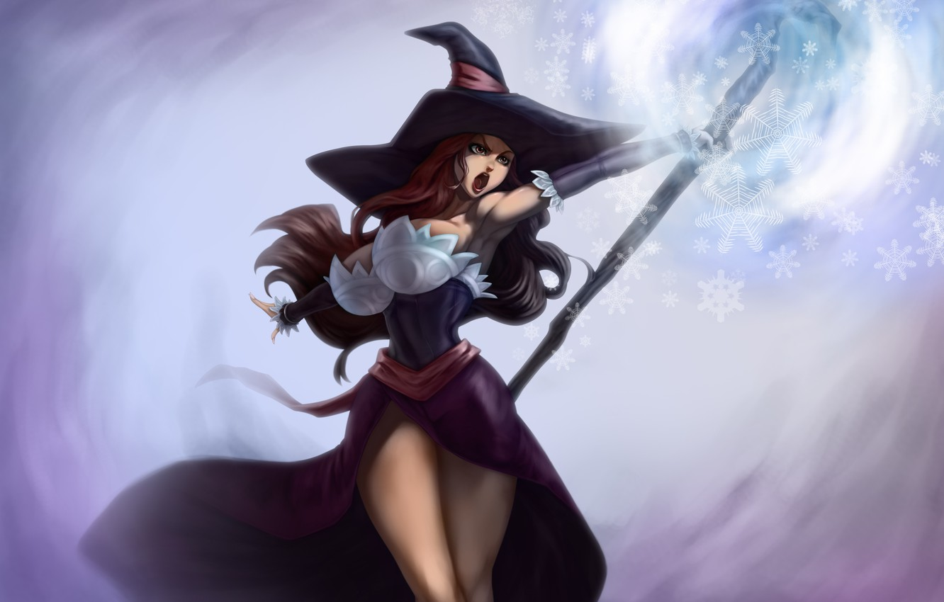 Sorceress Wallpapers Posted By Samantha Anderson