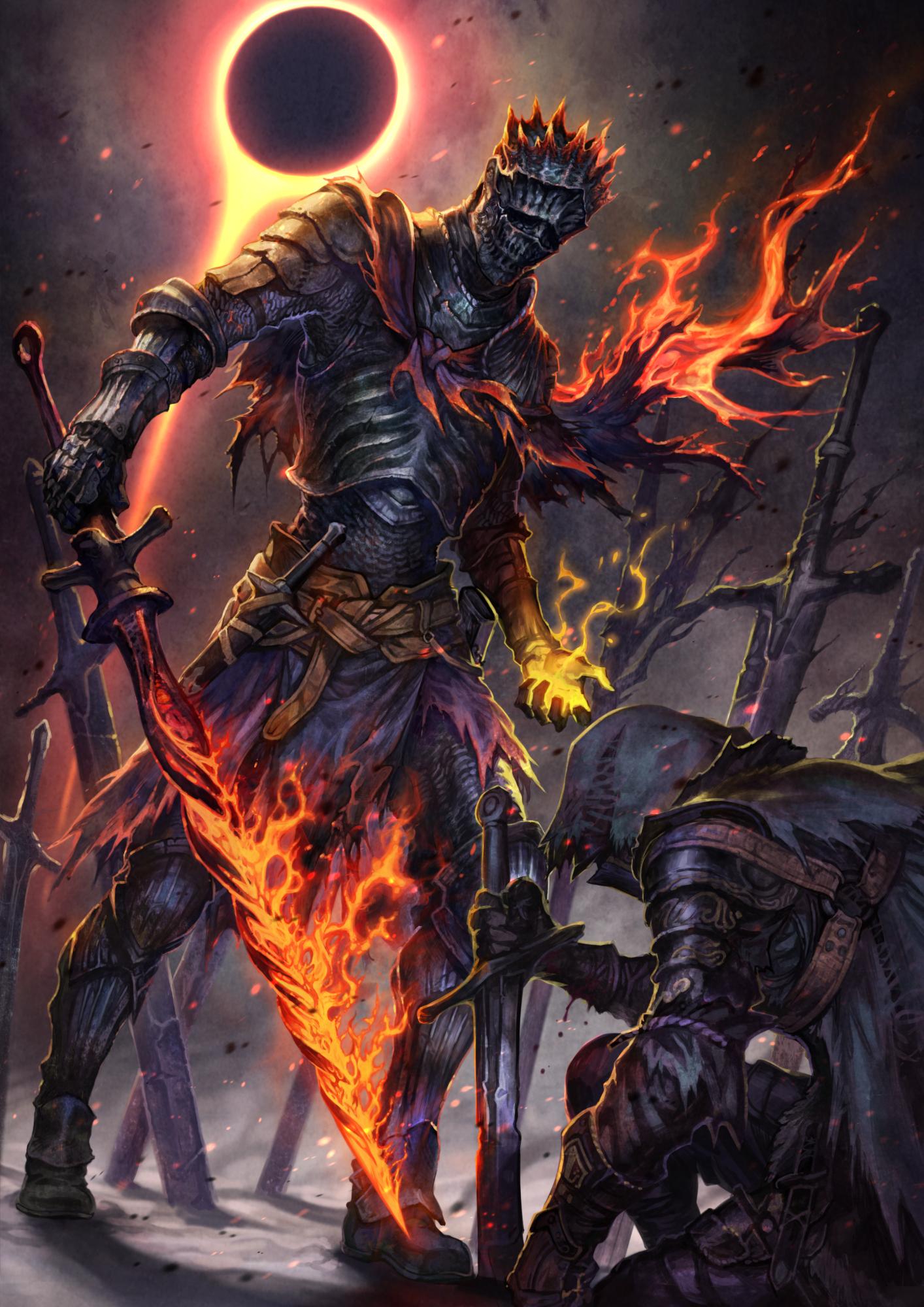 Wallpaper Dark Souls Iii Soul Of Cinder Hd Games 1670 Hd