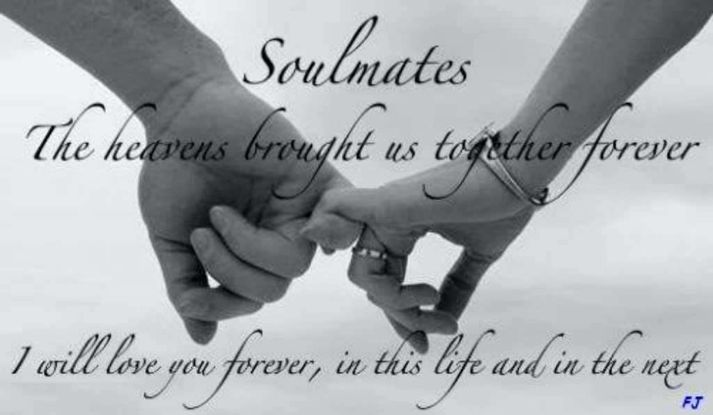 You are my soulmate forever