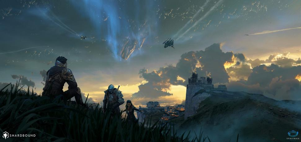 Space Fantasy Art Posted By John Sellers
