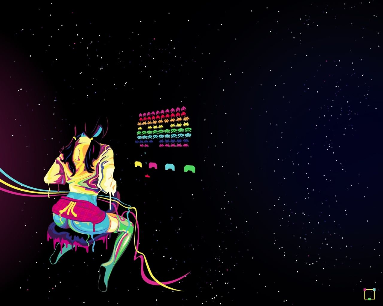 Space Invaders Backgrounds Posted By Samantha Mercado