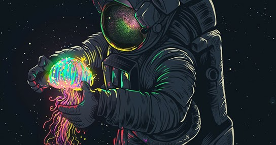Space Man Wallpaper Posted By Michelle Tremblay