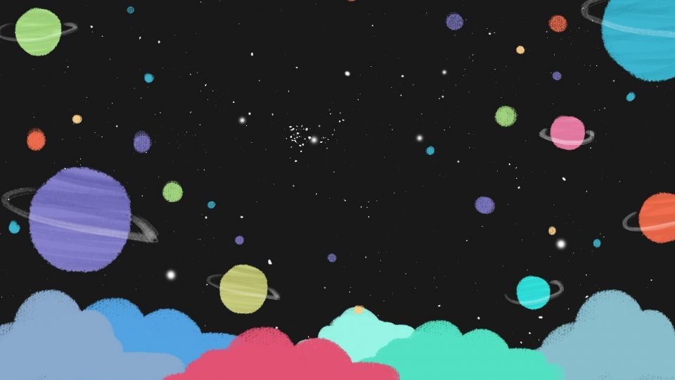 Stunning Cartoon Galaxy Wallpaper images For Free Download