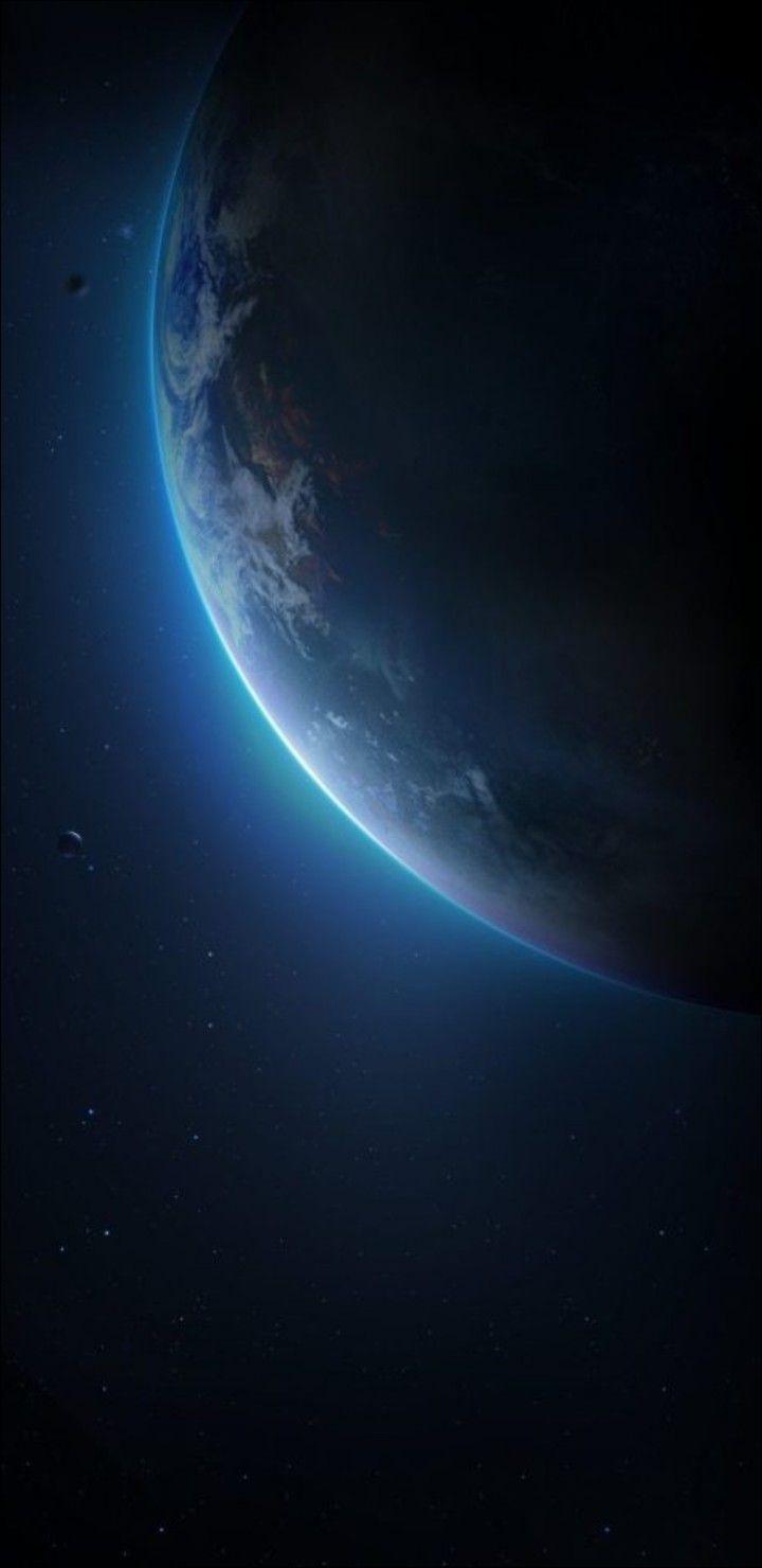 Space Stars Sky Planet Earth Wallpaper Clean Galaxy 4k