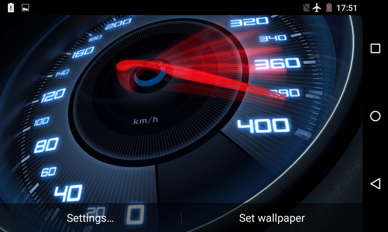 Speedometer Live Wallpaper Posted By Ethan Walker