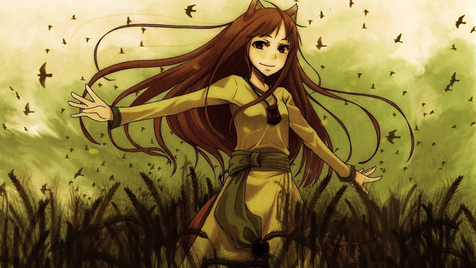 Spice And Wolf Holo Wallpaper Posted By Sarah Johnson