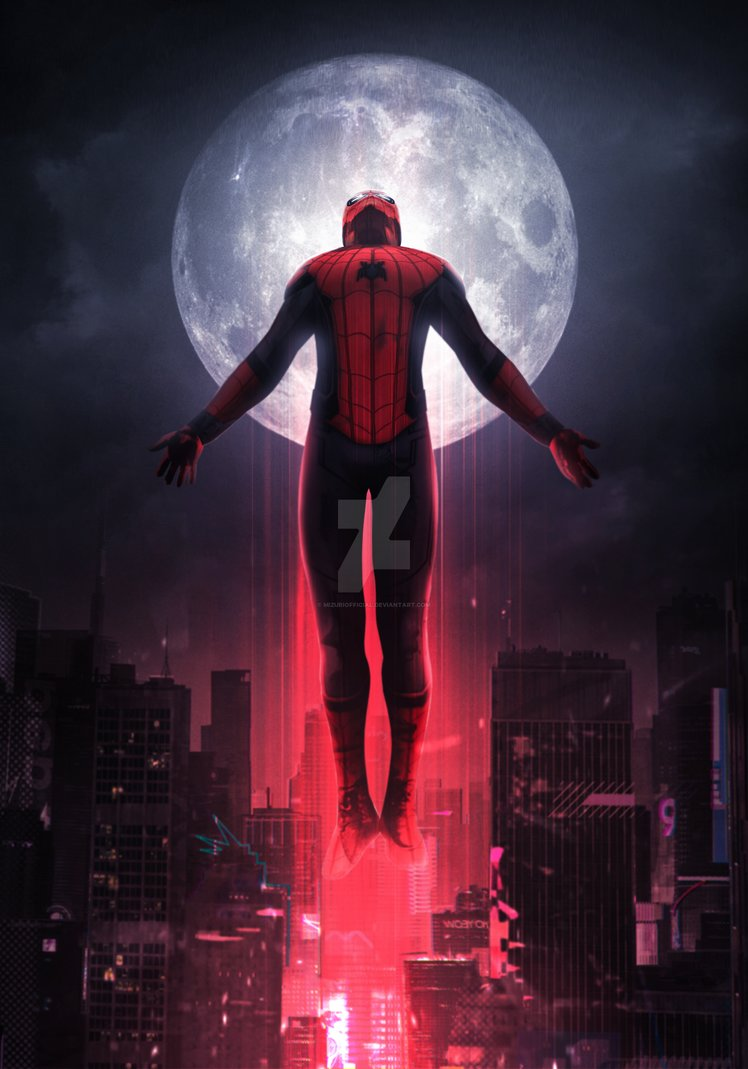 Spider Man Far From Home Wallpaper Hd Posted By Michelle Tremblay