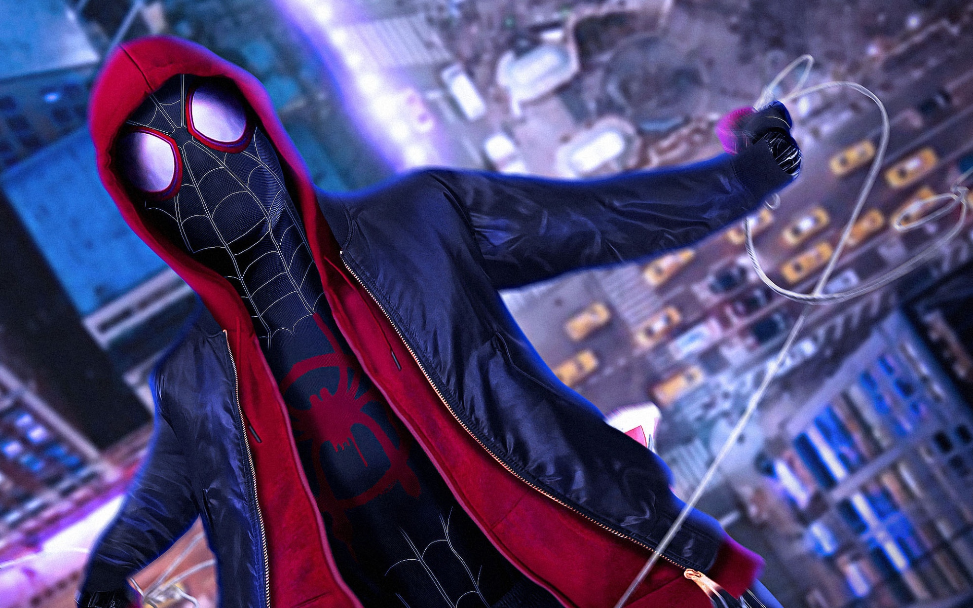 Spider Man Into The Spider Verse Hd Wallpaper Posted By Sarah
