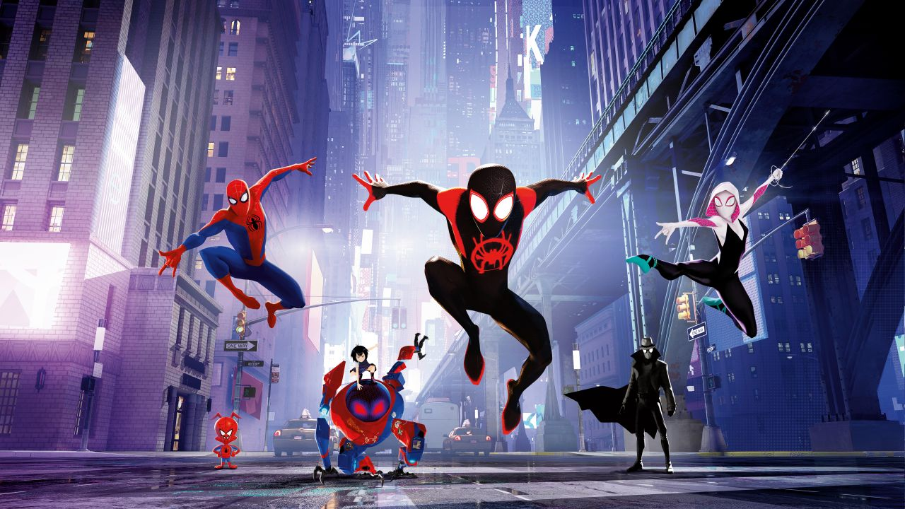 Spider Man Into The Spider Verse Pc Wallpaper Posted By Ethan Peltier