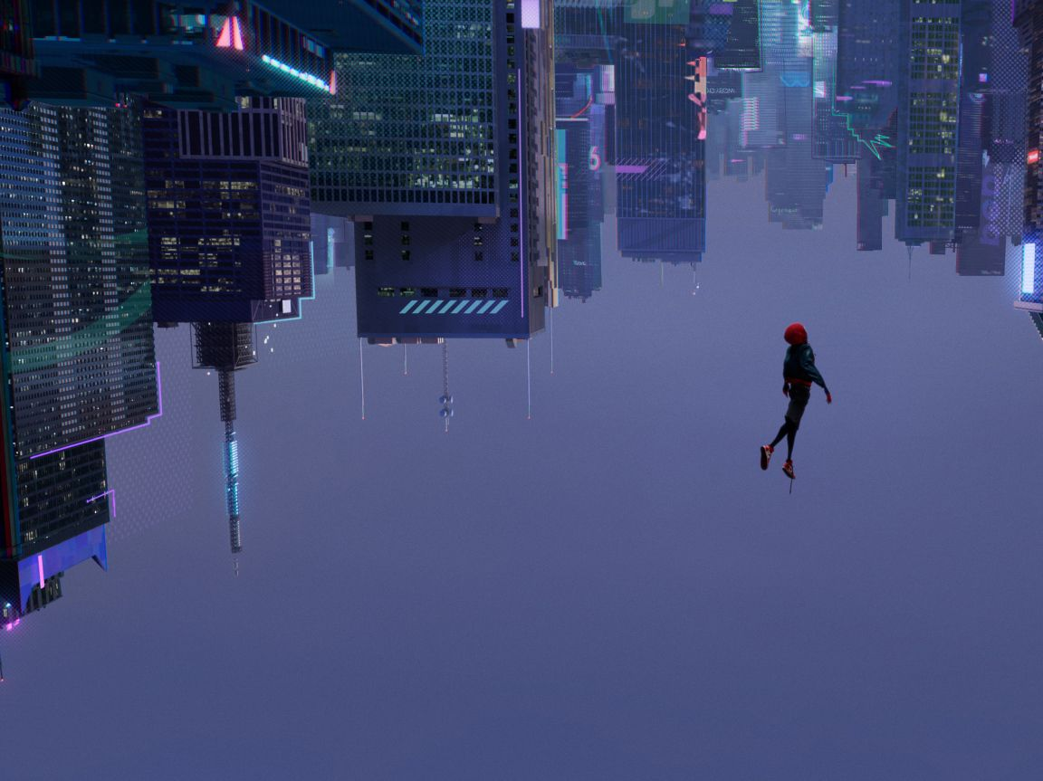 Spider Man Into The Spider Verse Wallpaper 4k Posted By Michelle