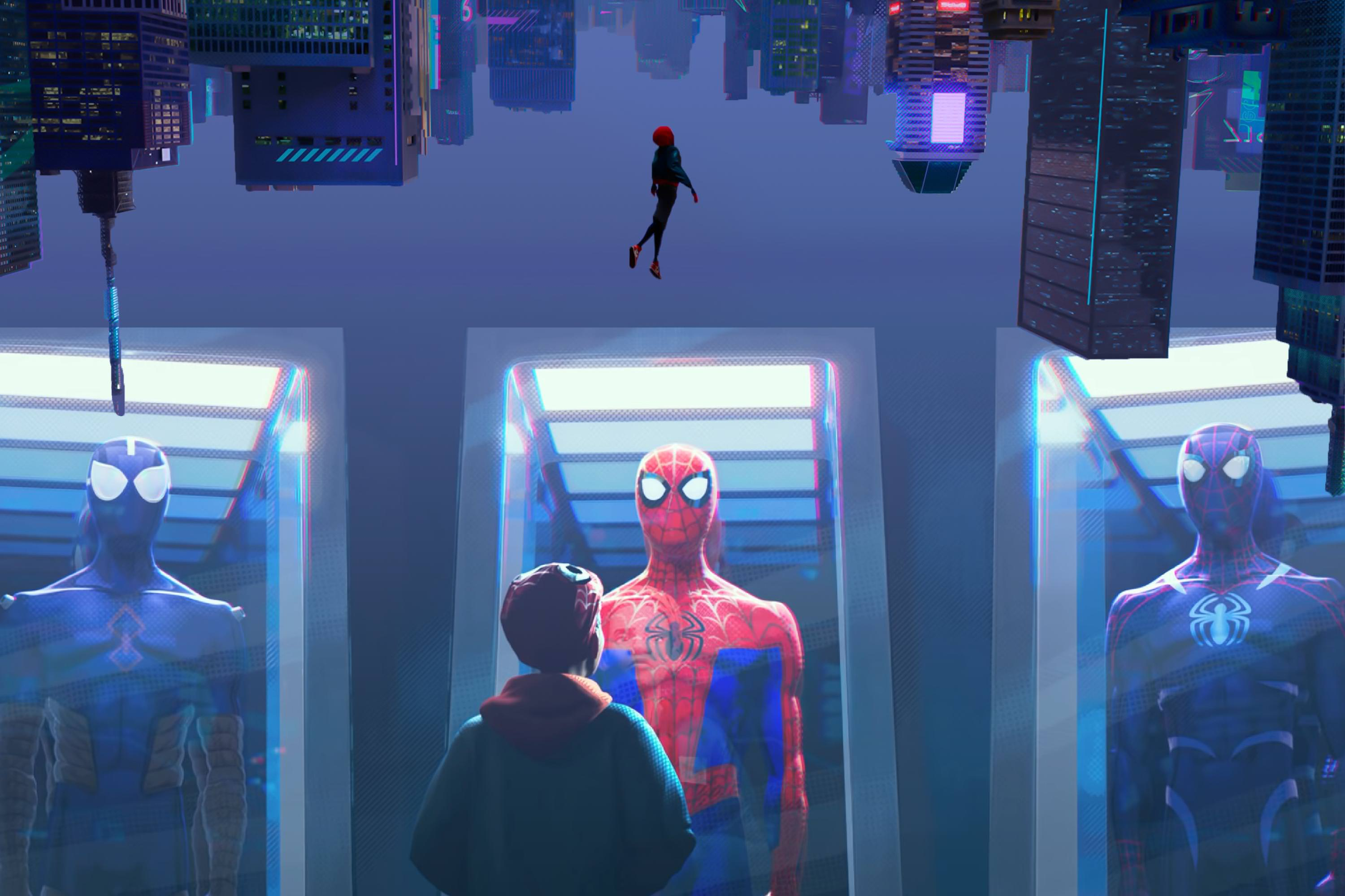 Spider Man Into The Spider Verse Wallpaper Posted By John Simpson
