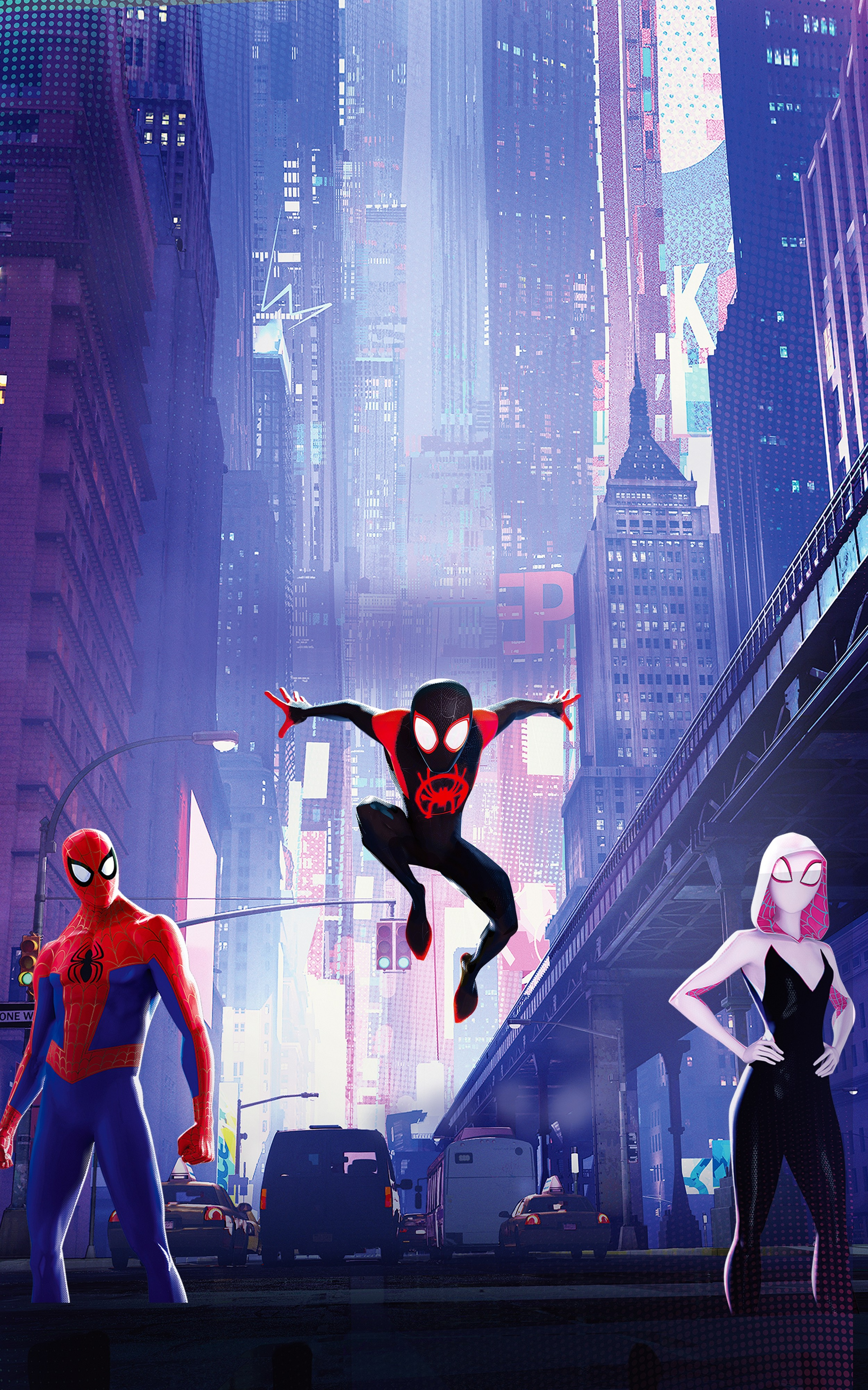 Spider Man Into The Spider Verse Wallpapers Posted By Christopher