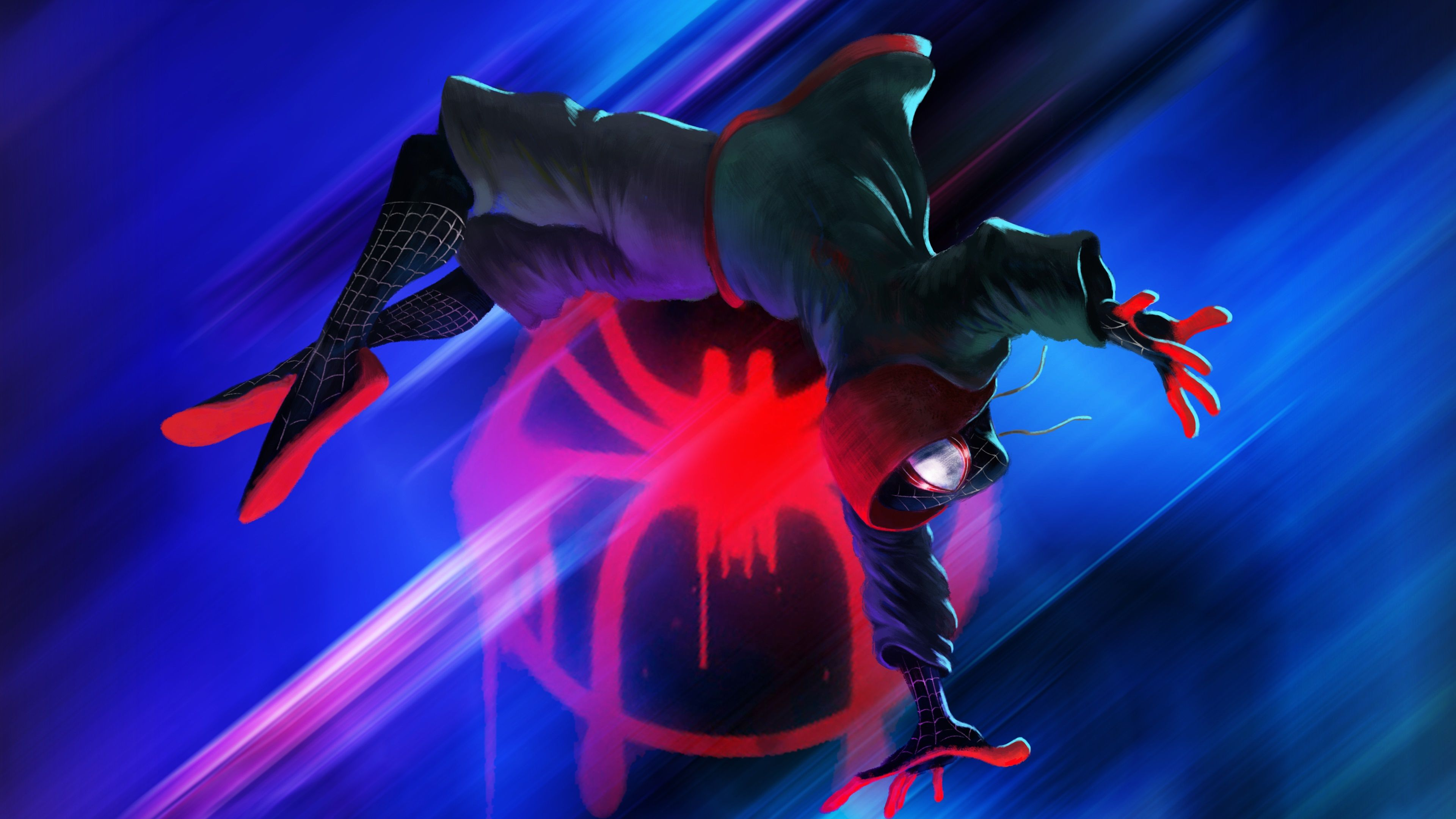 Spider Verse Wallpaper 4k Posted By Michelle Tremblay