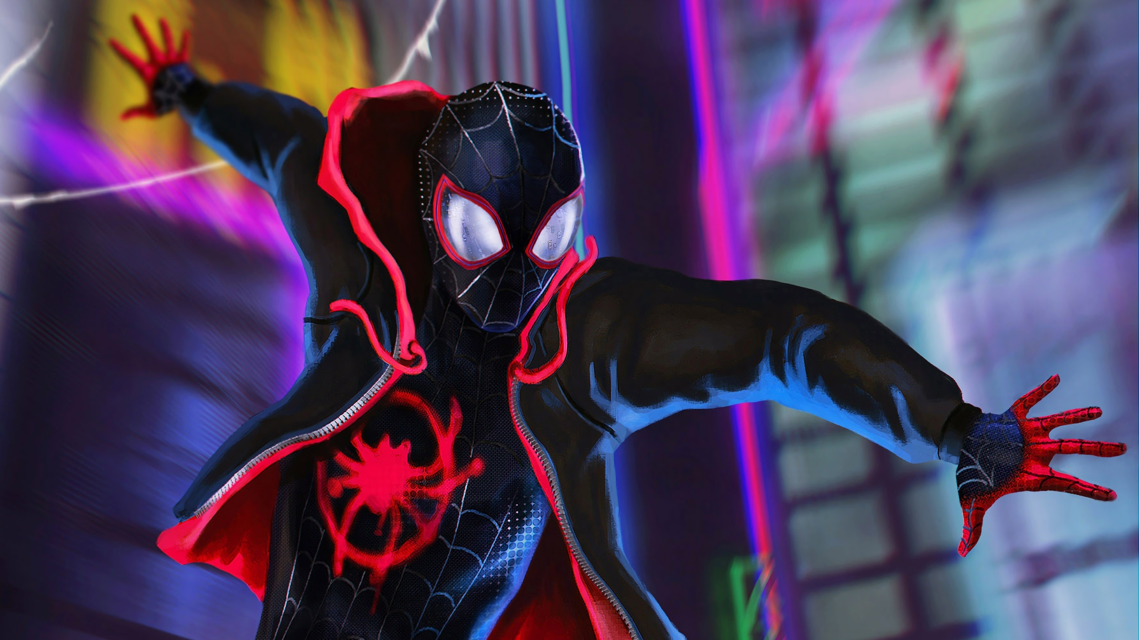 Spider Verse Wallpaper Hd