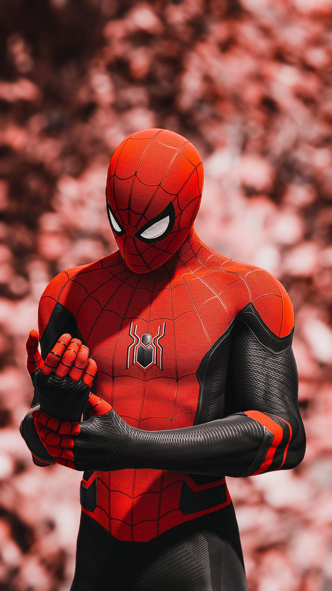 Spiderman Far From Home Wallpaper