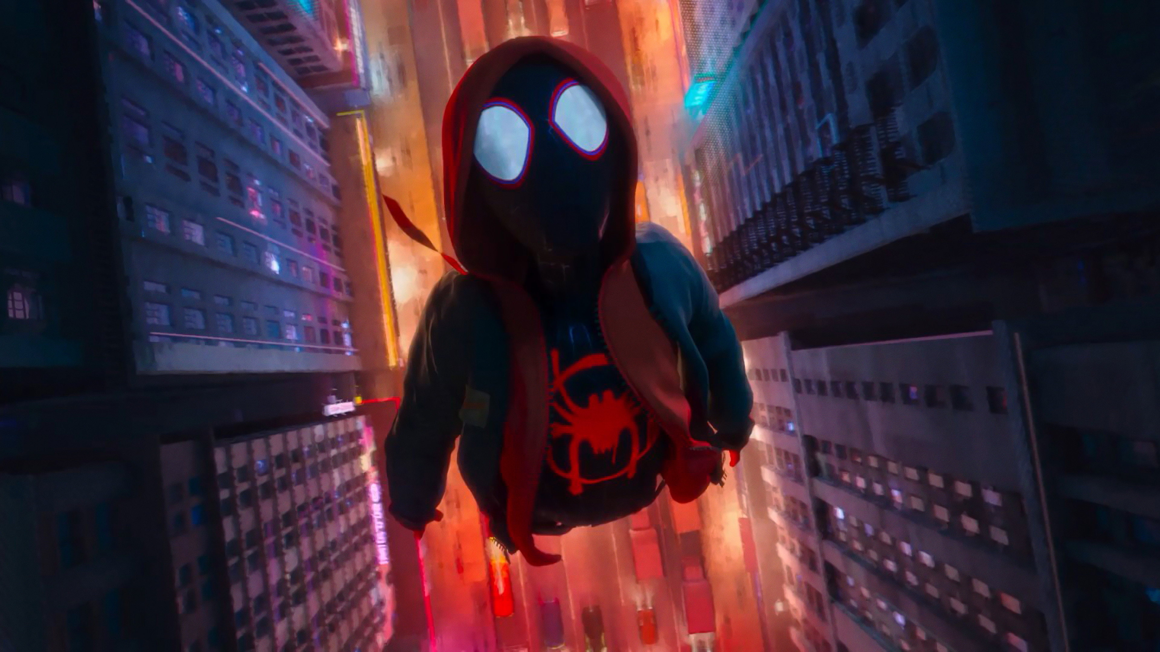 Spiderman Into The Spider Verse Wallpaper 4k Posted By Michelle Tremblay