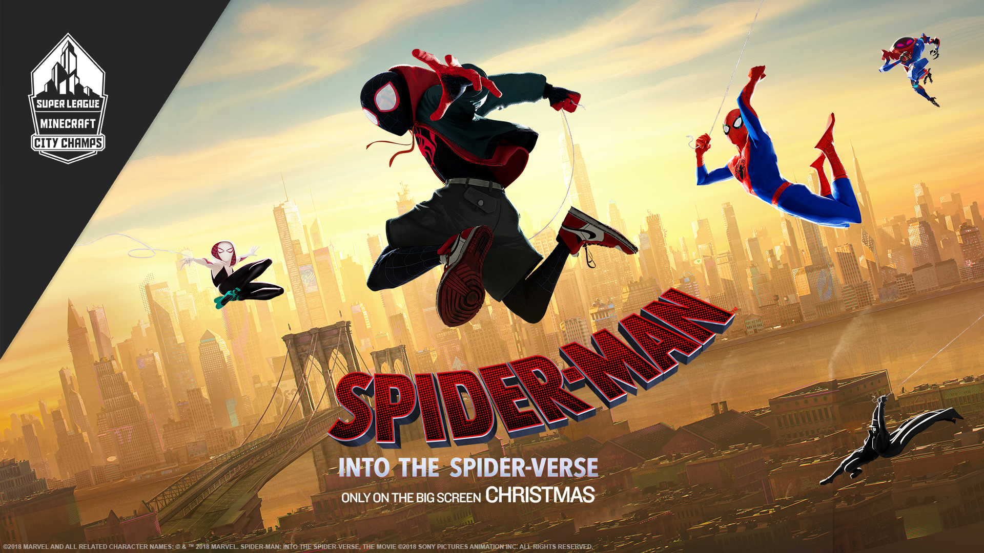 Spiderman Into The Spider Verse Wallpaper Posted By Christopher Anderson