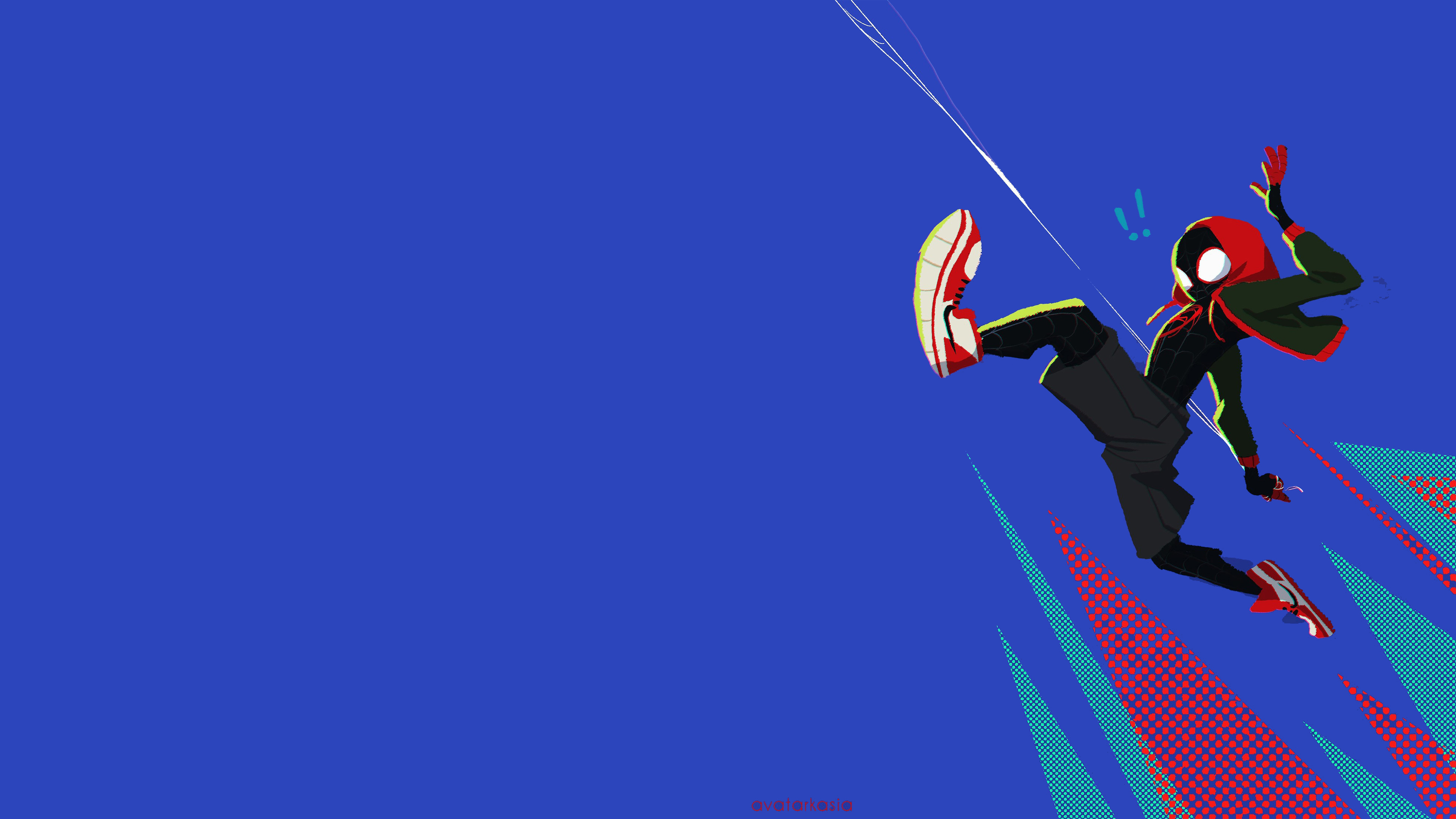 Spiderman Into The Spider Verse Wallpaper Posted By Ethan Anderson