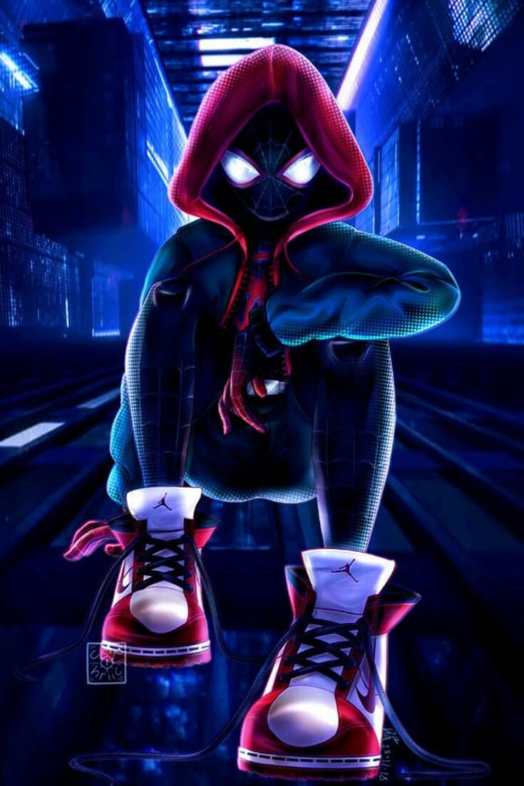 Spiderman Miles Morales Wallpaper Posted By Ethan Mercado