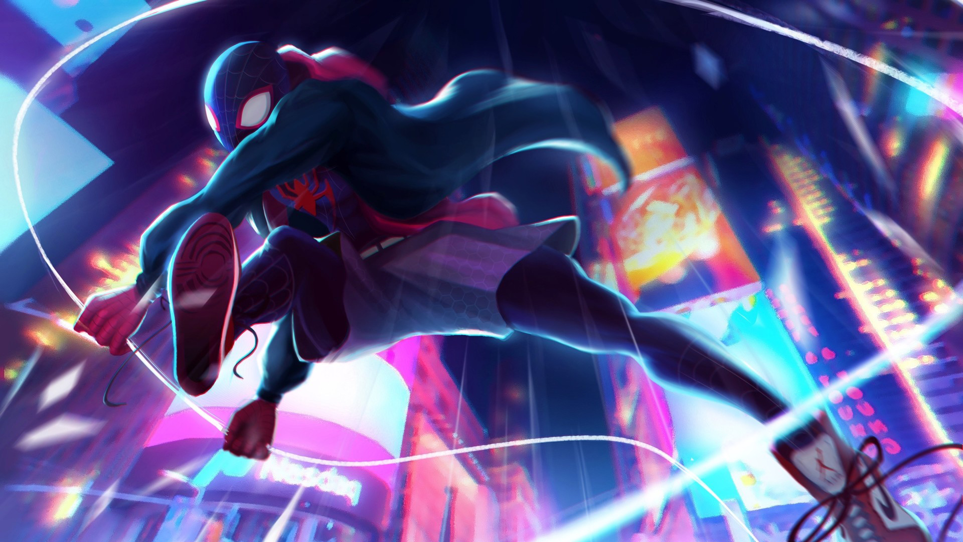 Spiderman Neon Wallpaper Posted By John Anderson