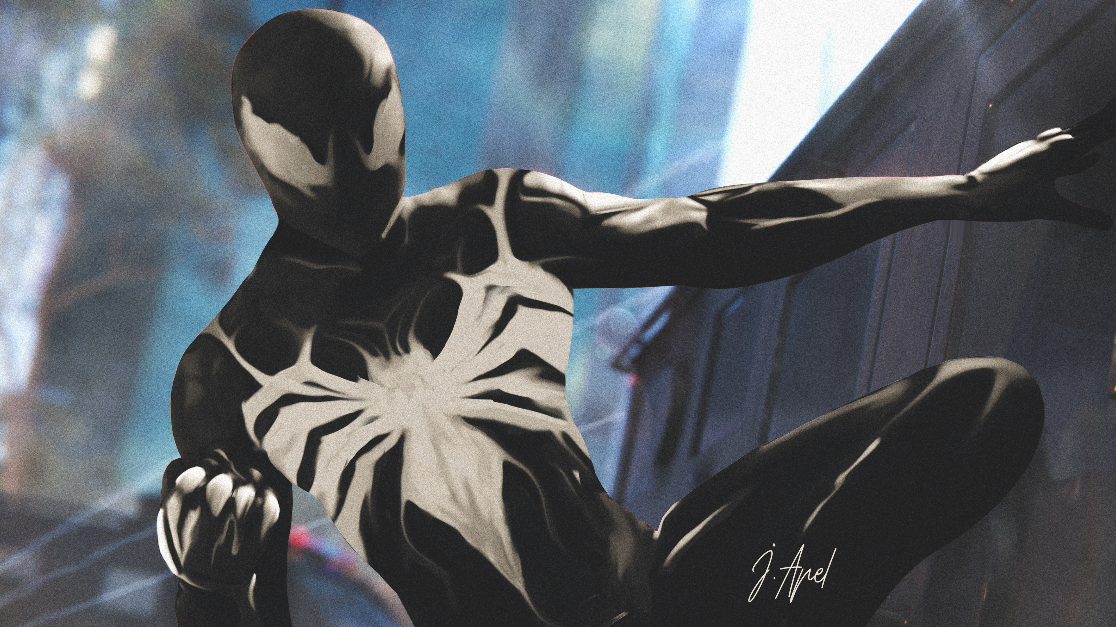 Spiderman Ps4 4k Wallpaper