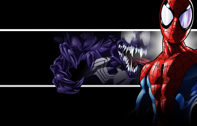 Spiderman Venom Wallpaper Posted By Christopher Peltier
