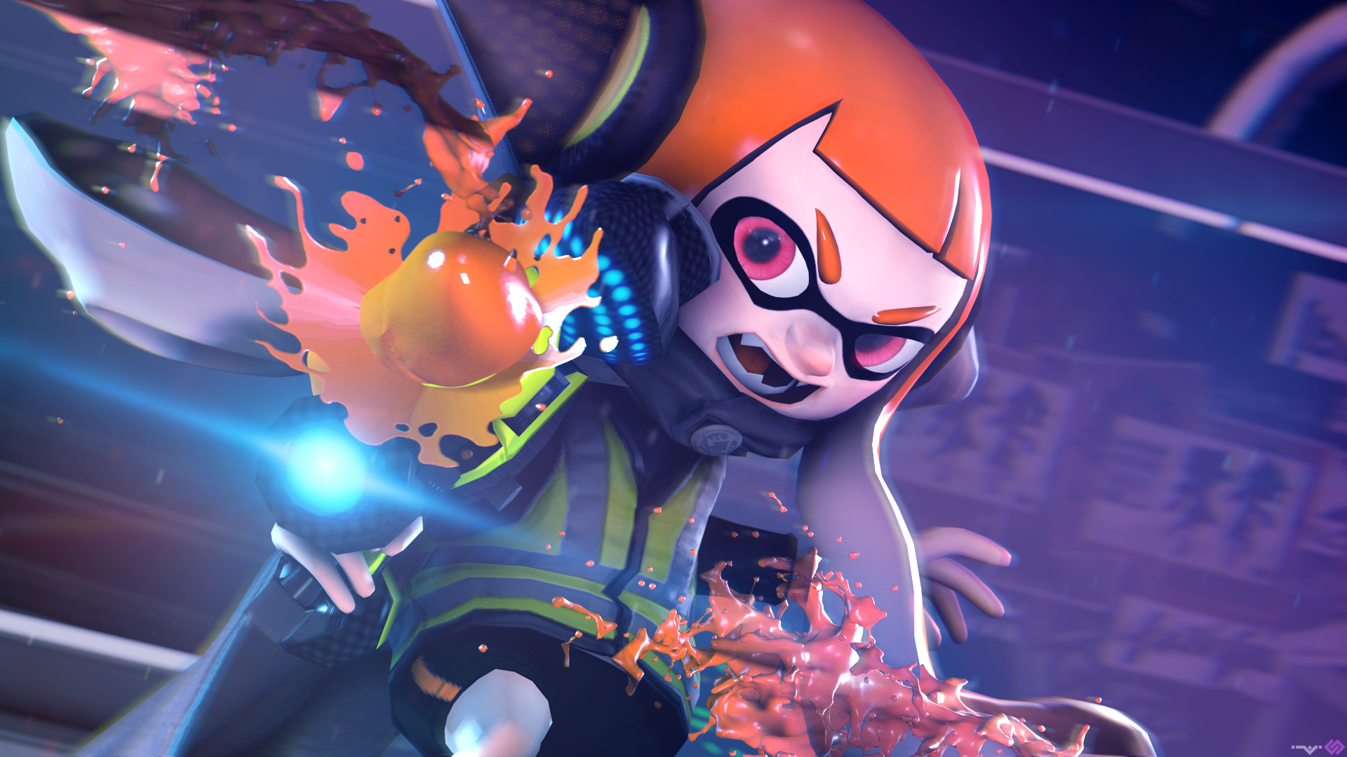 Splatoon 2 Octo Expansion Wallpaper Posted By Ryan Thompson