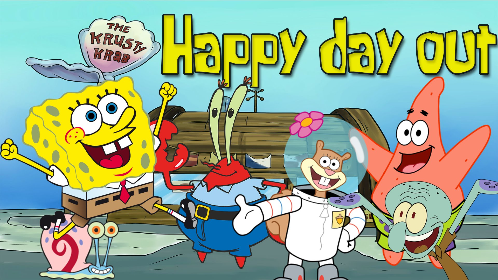 Spongebob 1920x1080 Posted By John Johnson