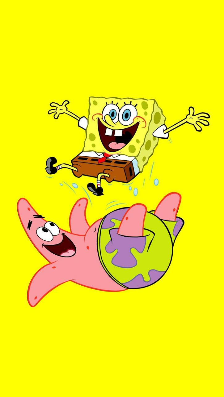 Spongebob And Patrick Wallpaper Posted By Christopher Peltier