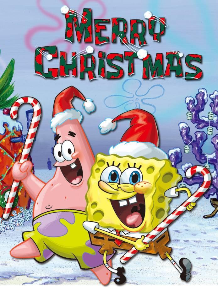 Spongebob Xmas Wallpaper by klaun666 ce Free on ZEDGE tm