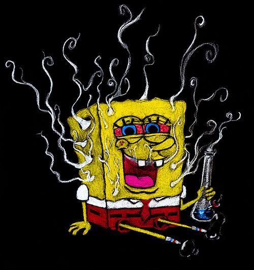 Spongebob Smoking Weed Wallpaper Posted By Samantha Mercado
