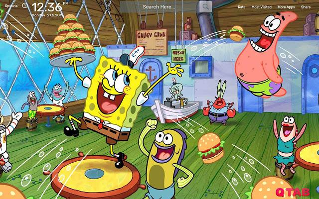 Spongebob Squarepants Wallpaper HD Theme