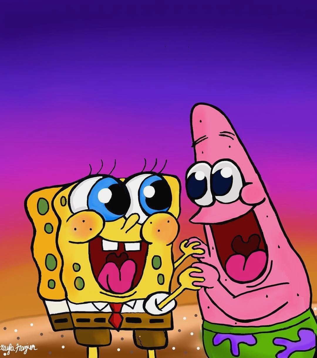 Spongebob Squarepants And Patrick Wallpaper Posted By Ethan Simpson
