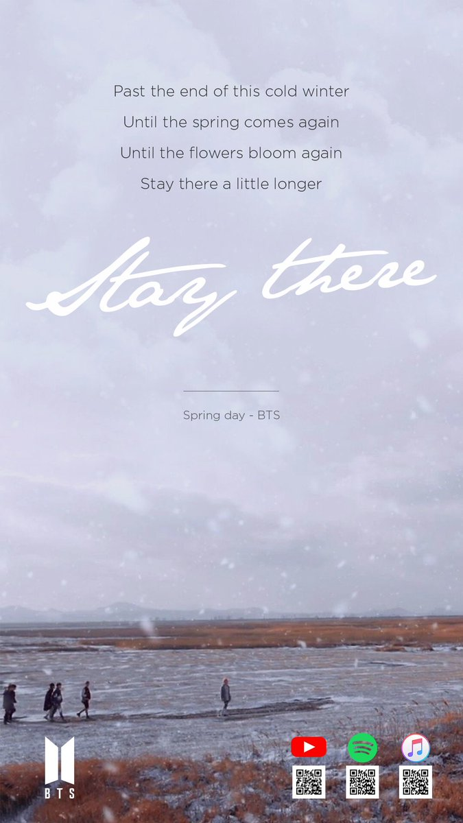 BTS Lyrics on Twitter Spring Day BTSGuerillaMoves