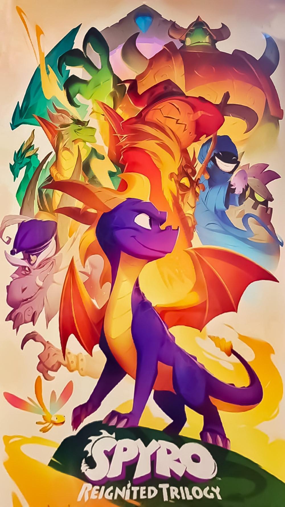 Spyro The Dragon Wallpaper Posted By Sarah Mercado